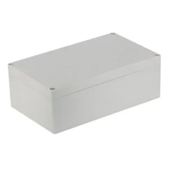 Caixa Plástica para Montagem - 200mm x 120mm x 55mm - Branca
