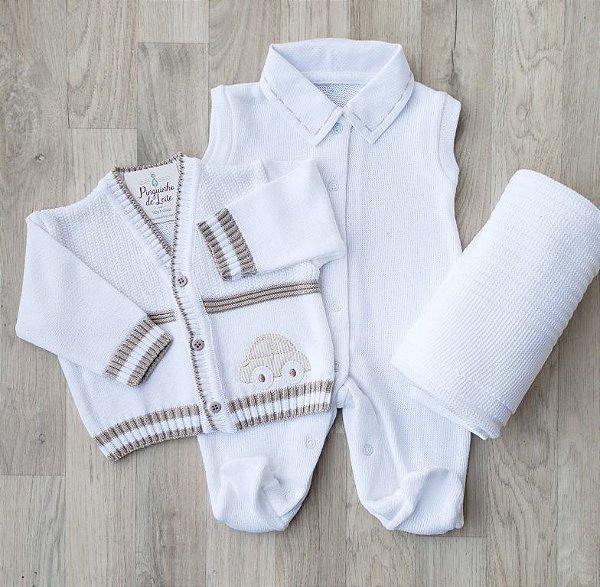 Saída Maternidade Tricot - Otavio Branco