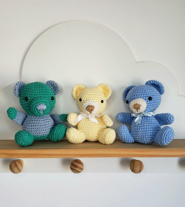 Ursinhos Amigurimi