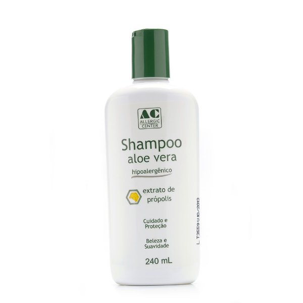Shampoo Aloe Vera Hipoalergênico 240ml - Allergic Center