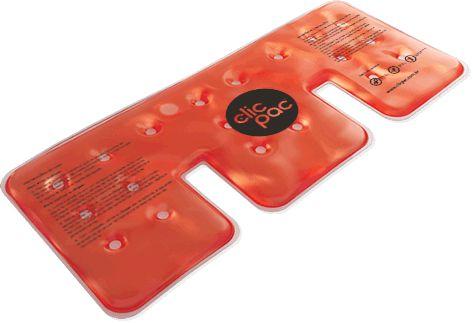 Bolsa de Gel para Compressas Clic Pac Calor Instantâneo - Cervical