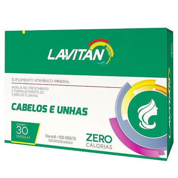 Lavitan Cabelos e Unhas - Suplemento Vitamínico 30 caps