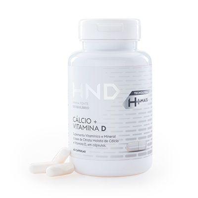 Suplemento Vitamínico HND Cálcio + Vitamina D 60 caps