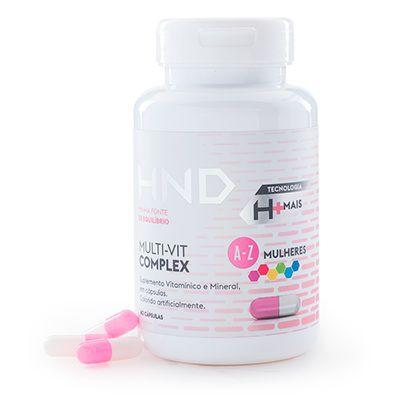 Suplemento Vitamínico HND Multi-Vit Complex Mulheres 60 cáps