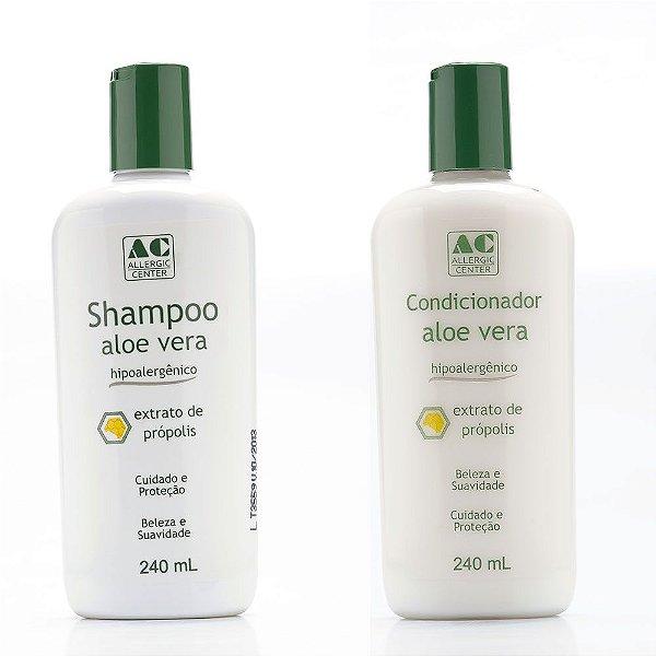 Kit Shampoo + Condicionador Hipoalergênico Allergic Center