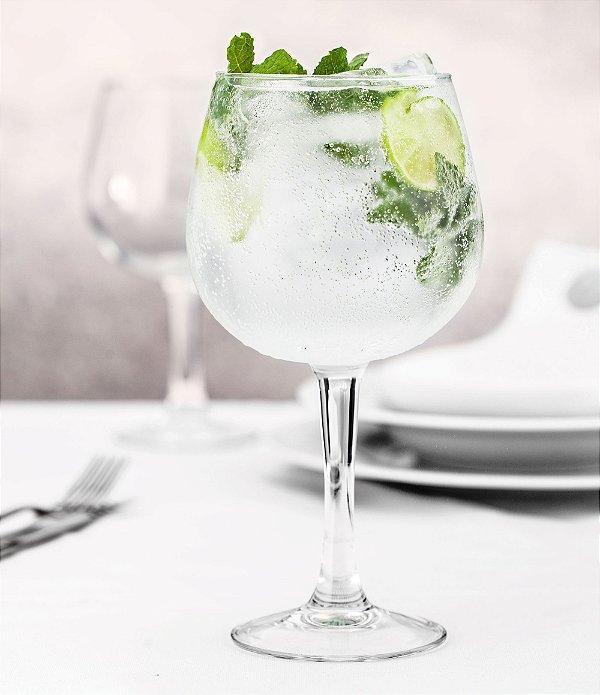 Taça  para Gin Ibiza Vidro temperado 720 ml -  Cx  c/ 6 pç  - Vicrila