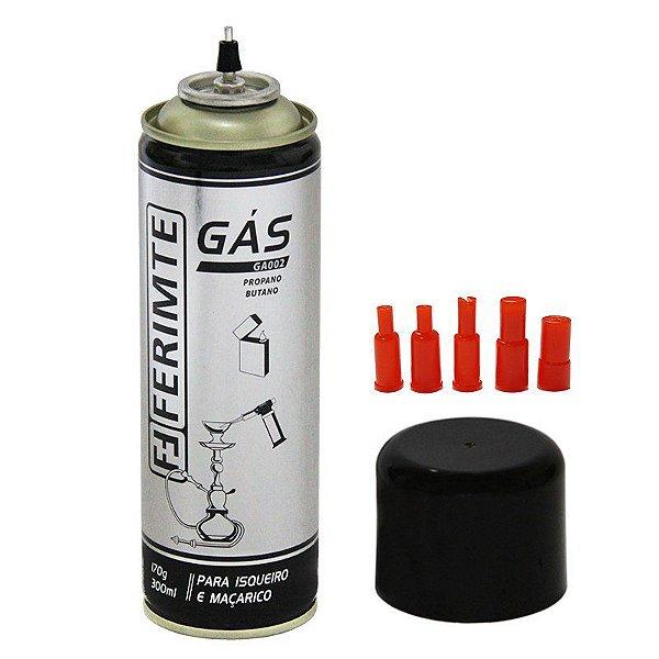 Gás Para Isqueiro e Maçarico 170g com 300 ml - Ferimte
