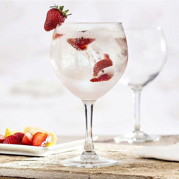 Taca Gin Havana Cocktail Vidro Temperado 620 ml Cx C/ 6 Unidades -Vicrila