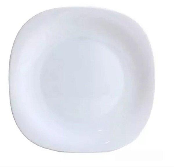 Prato Quadrado Opaline Sobremesa 19 Cm Jogo C/ 6 Melhor Preço