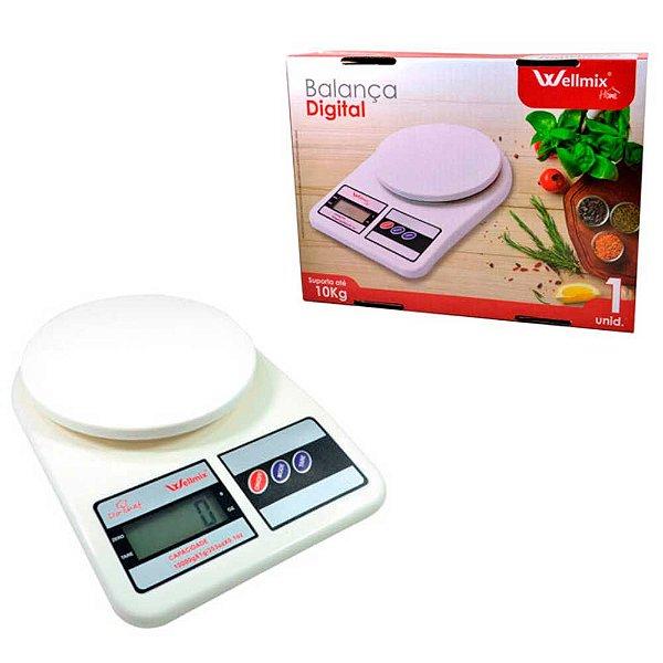 Balança de cozinha Wellmix Digital 10Kg WX2502