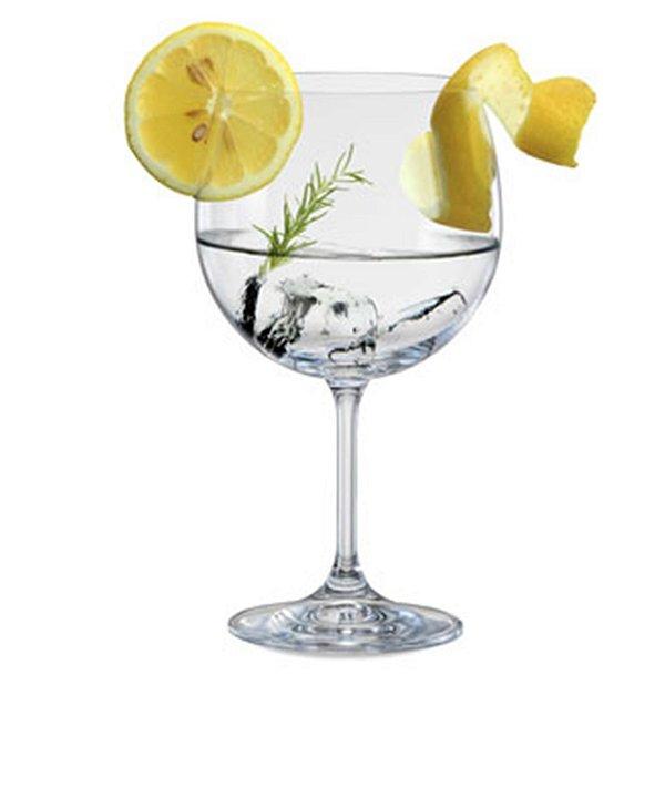 Conjunto Com 6 Taças Gin Bohemia Crystal Ideal P/beefeater Tanquera 600ml