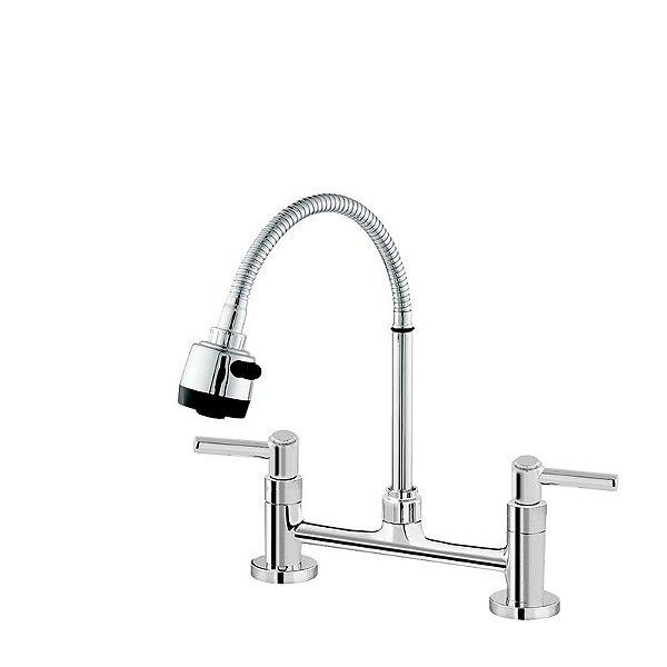 Misturador de Cozinha Mesa Gourmet C/ 02 Entradas de Água Modelo C11