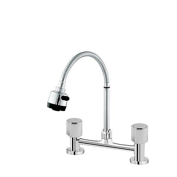 Misturador de Cozinha Mesa Gourmet C/ 02 Entradas de Água Modelo C40