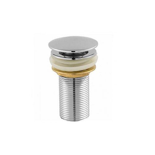 Válvula Click Poup-Up Pia Lavatório Para Escoamento de Água 7/8'' Tampa Externa Metal