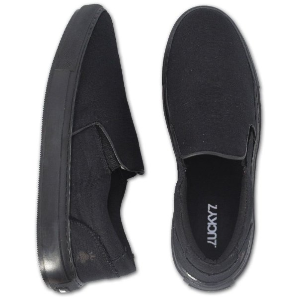 Tênis Slip On - Lona Black