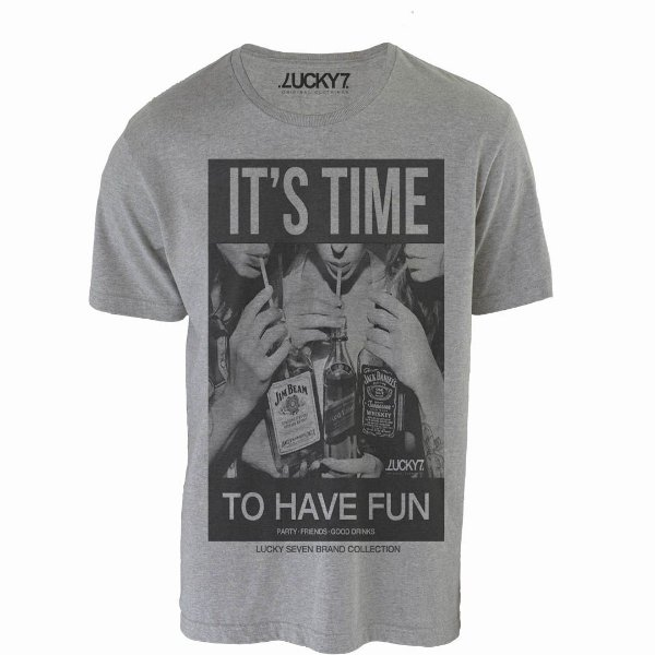 Camiseta Lucky Seven  - It's Time