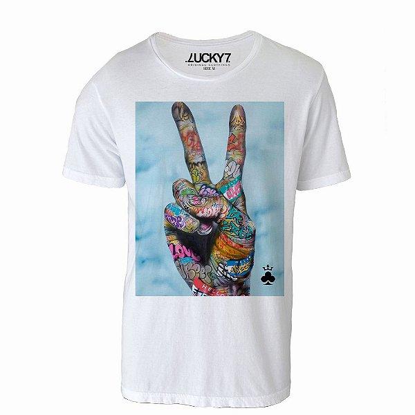 Camiseta Lucky Seven - Peace and Lucky