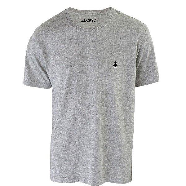 Camiseta Trevo Basic - Cinza