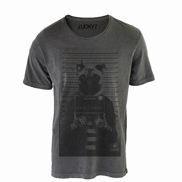 Camiseta Relax - Criminal Pug