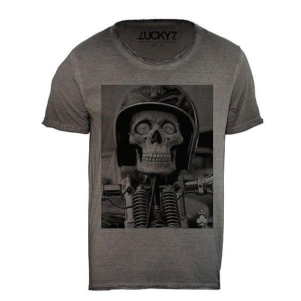 Camiseta Relax - Boy Skull