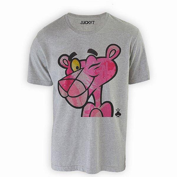 Camiseta Lucky Seven - Pantera Cor de Rosa