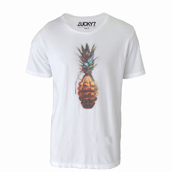Camiseta Lucky Seven - Pineapple Grenade