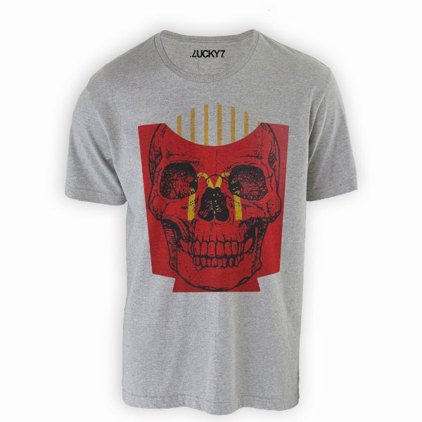 Camiseta Lucky Seven - Skull Fries
