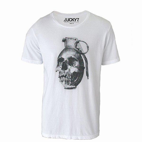 Camiseta Lucky Seven - Skull Pump