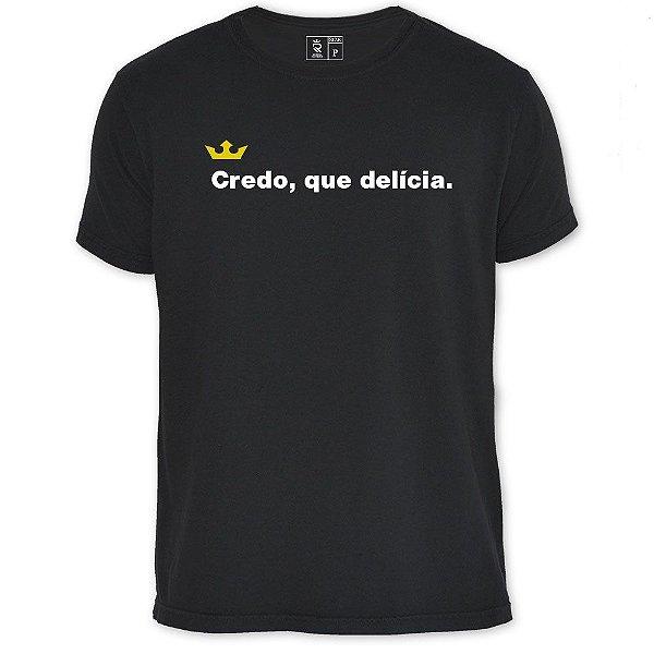 Camiseta Resenha - Credo, que delicia