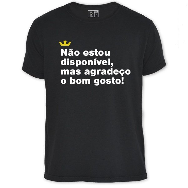 Camiseta Resenha - Disponível