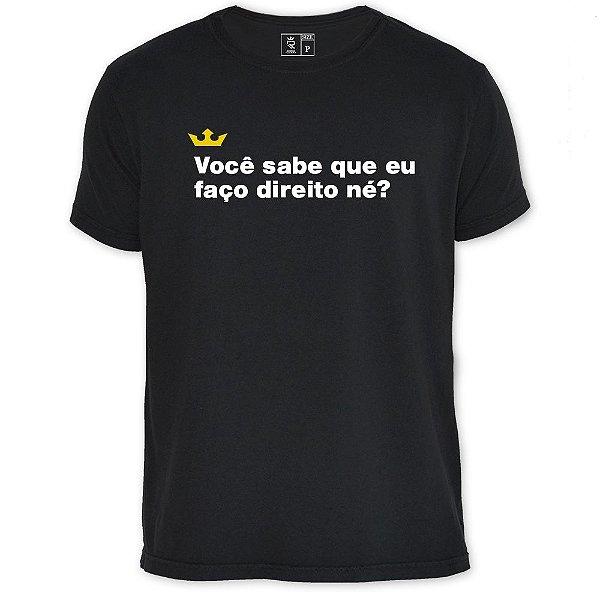 Camiseta Resenha - Faço Direito
