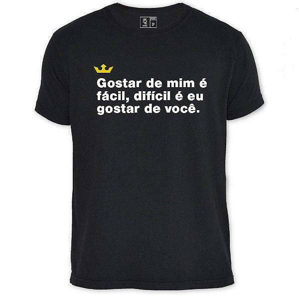 Camiseta Resenha - Gostar de mim é fácil