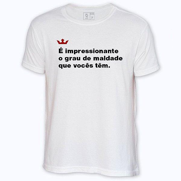 Camiseta Resenha - Grau de Maldade