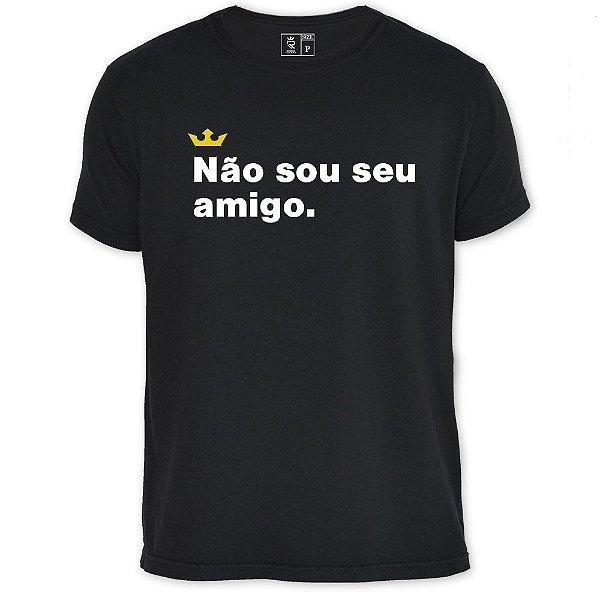 Camiseta Resenha - Não sou seu amigo