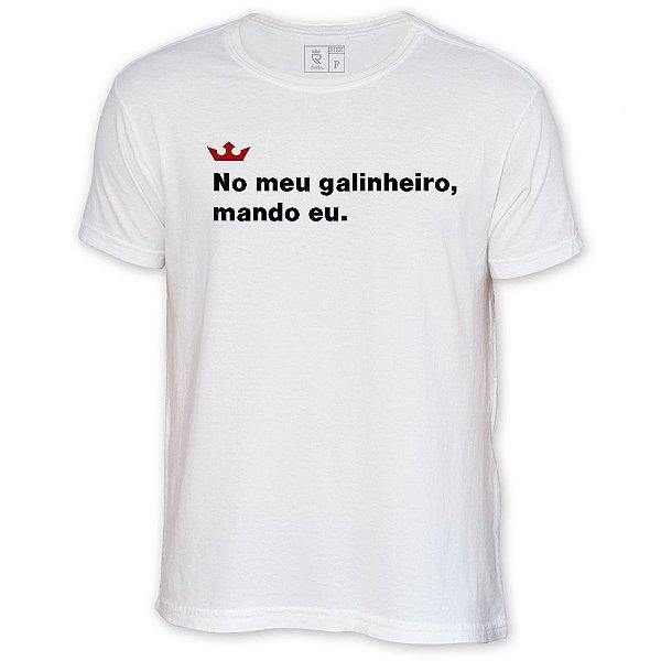 Camiseta Resenha - No meu galinheiro