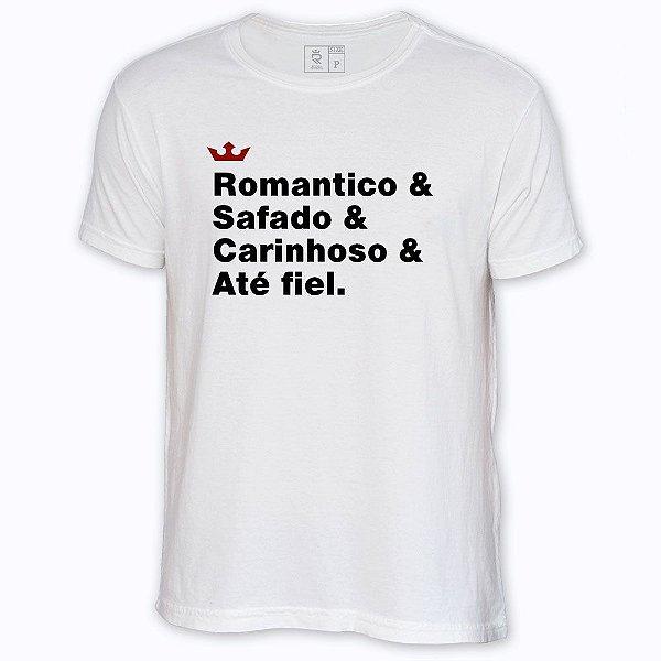 Camiseta Resenha - Romântico & Fiel