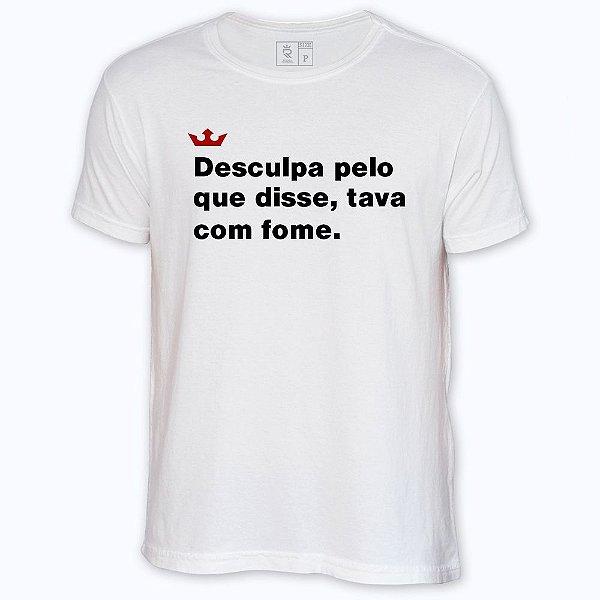 Camiseta Resenha - Tava com fome