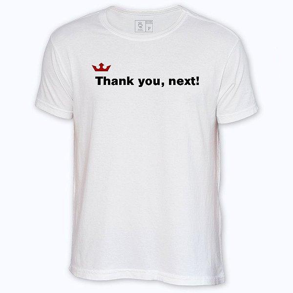 Camiseta Resenha - Thank you, next!