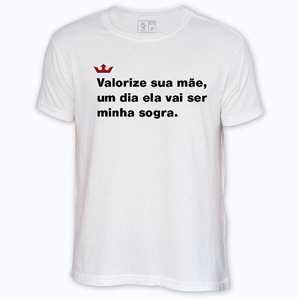 Camiseta Resenha - Valorize sua mãe