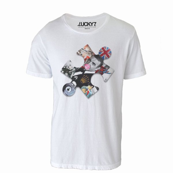 Camiseta Lucky Seven - Puzzle Bond
