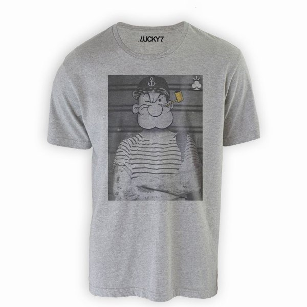 Camiseta Lucky Seven - Tattooed Popeye