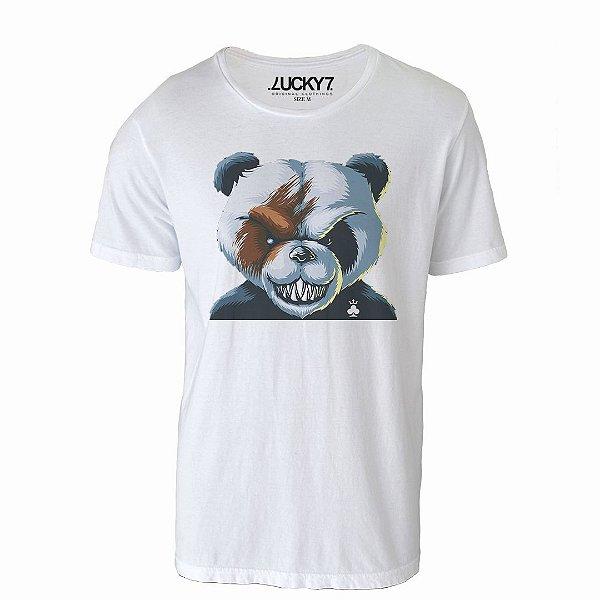 Camiseta Lucky Seven - Angry Panda