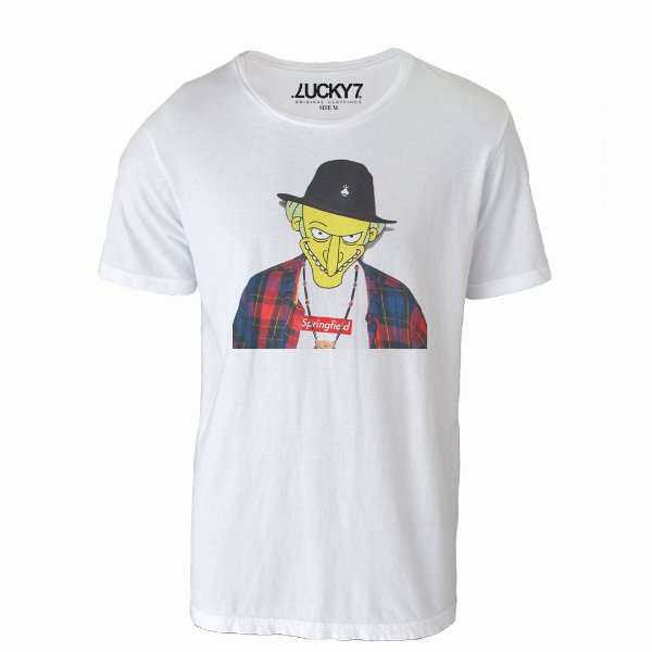 Camiseta Lucky Seven - Sr Burns