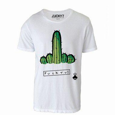 Camiseta  Cacto Fuck u - LIQUIDAÇÃO