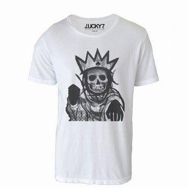 Camiseta  - King Skull LIQUIDAÇÃO