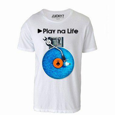 Camiseta - Play na Life LIQUIDAÇÃO