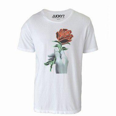 Camiseta - Rose LIQUIDAÇÃO