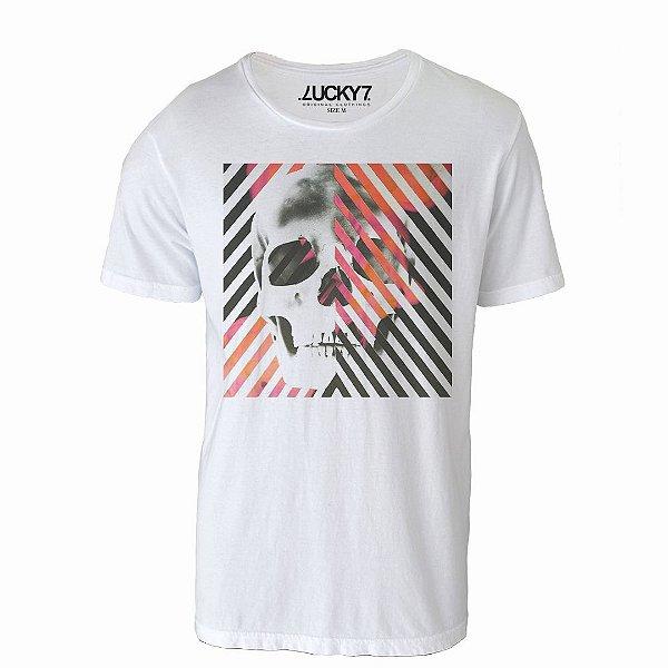 Camiseta Lucky Seven - Skull Angles