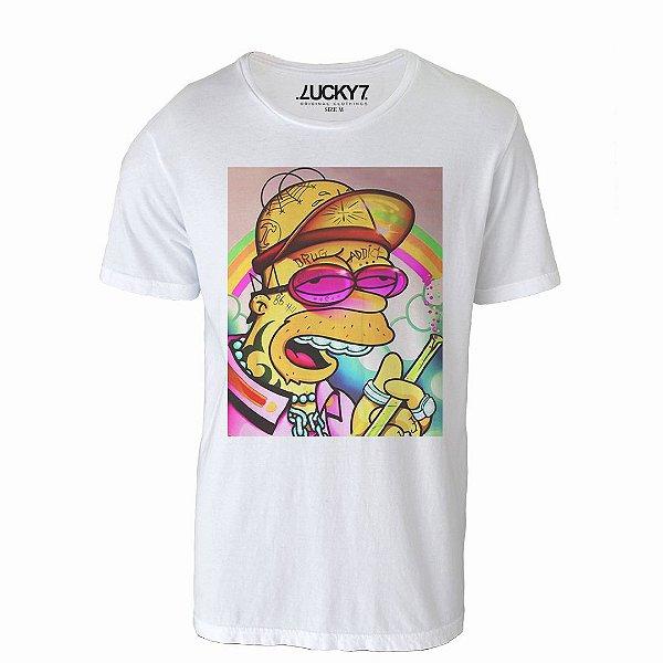 Camiseta Lucky Seven - Drug Homer