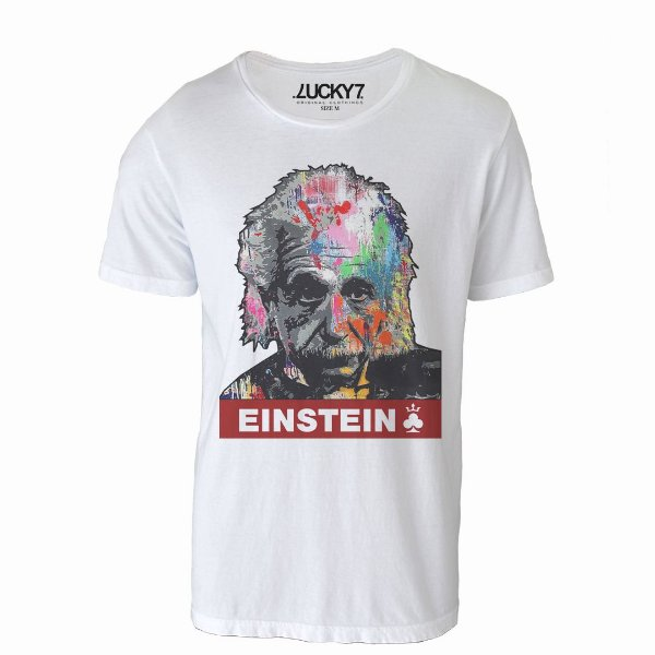 Camiseta Lucky Seven - Grafitti Einstein